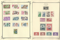 Monaco Stamp Collection on 24 Scott Specialty Pages, 1914-1976 BOB, JFZ