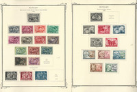 Hungary Stamp Collection on 34 Scott Specialty Pages, 1950-1960, JFZ