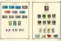 Hungary Stamp Collection on 60 Scott Specialty Pages, 1961-1969, JFZ