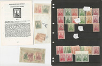 China Stamp Collection, #722-727, Taiwan 29-37 Mint Lot, Jiang Jie She, JFZ
