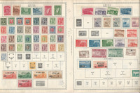 China Stamp Collection 1912-1968 on 19 Minkus Pages, JFZ