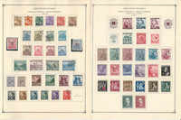 Bohemia Moravia Stamp Collection 1940-44 On 9 Scott International Pgs, JFZ