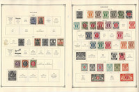 Danzig Stamp Collection 1920-1939 on 6 Scott International Pages, JFZ