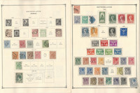 Netherlands Stamp Collection on 10 Scott International Pages, 1852-1940, JFZ