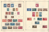 Romania Stamp Collection on 22 Scott International Pages, 1941-1949, JFZ