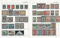 San Marino Stamp Collection on 16 Pages, Neatly Identified, JFZ