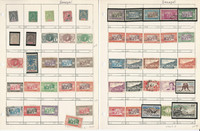 Senegal Stamp Collection on 5 Pages, Neatly Identified, JFZ
