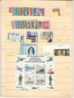 South Georgia Stamp Collection, #1//55 Mint NH Sets, 1963-1979, JFZ
