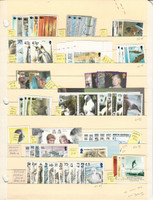South Georgia Stamp Collection, #248//323 Mint NH Sets, 1999-2004, JFZ
