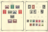 Spain Stamp Collection on 24 Scott Specialty Pages, 1931-1958, JFZ