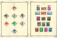 Spain Stamp Collection on 24 Scott Specialty Pages, 1958-1964, JFZ