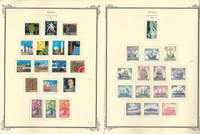 Spain Stamp Collection on 24 Scott Specialty Pages, 1964-1969, JFZ