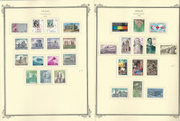 Spain Stamp Collection on 23 Scott Specialty Pages, 1969-1974, JFZ