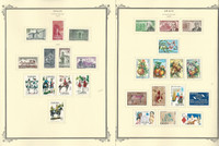 Spain Stamp Collection on 17 Scott Specialty Pages, 1974-1977, JFZ