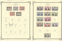 Spain Stamp Collection on 50 Scott Specialty Pages, 1854-1992 Back Book, JFZ
