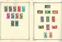 Spainish Rio Muni Stamp Collection on 5 Scott Specialty Pages, JFZ