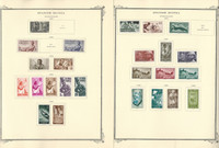 Spainish Guinea Stamp Collection on 23 Scott Specialty Pages, JFZ