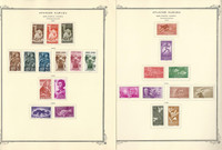Spainish Sahara Stamp Collection on 21 Scott Specialty Pages, JFZ