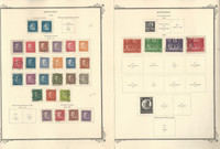Sweden Stamp Collection on 12 Scott Specialty Pages, 1920-1947, JFZ