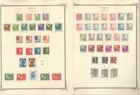 Sweden Stamp Collection on 18 Scott Specialty Pages, 1948-1967, JFZ