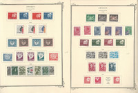 Sweden Stamp Collection on 24 Scott Specialty Pages, 1967-1975, JFZ
