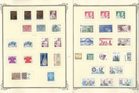 Sweden Stamp Collection on 14 Scott Quad Pages, 1975-1980, JFZ