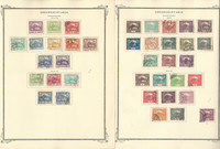 Czechoslovakia Stamp Collection on 15 Scott Specialty Pages, 1918-1939, JFZ