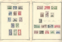 Czechoslovakia Stamp Collection on 50 Scott Specialty Pages, 1955-1966, JFZ