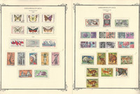 Czechoslovakia Stamp Collection on 66 Scott Specialty Pages, 1966-1976, JFZ