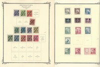 Czechoslovakia Stamp Collection on 27 Scott Specialty Pages, Back Book, JFZ