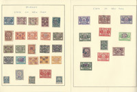United States Stamp Collection on 11 Pages, State Revenues, Fishing +, JFZ