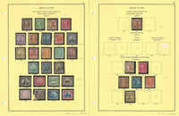 United States Stamp Collection on 23 Steiner Pages, 1922-1937, JFZ