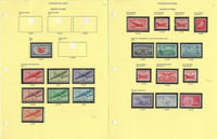 United States Stamp Collection on 11 Pages, Airpost C23//C134 Mint NH, JFZ