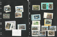 United States Stamp Collection, Duck Hunting Stamps, Federal and State, JFZ