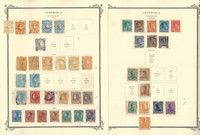 Venezuela Stamp Collection on 4 Scott Specialty Pages, 1859-1888, JFZ