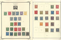 Venezuela Stamp Collection on 13 Scott Specialty Pages, 1910-1949, JFZ