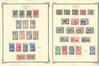 Venezuela Stamp Collection on 19 Scott Specialty Pages, 1950-1960, JFZ