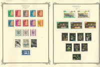 Venezuela Stamp Collection on 32 Scott Specialty Pages, 1961-1978, JFZ