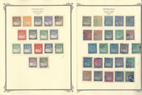 Venezuela Airpost Stamp Collection on 12 Scott Specialty Pages, 1930-47, JFZ