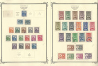 Venezuela Airpost Stamp Collection on 10 Scott Specialty Pages, 1947-52, JFZ