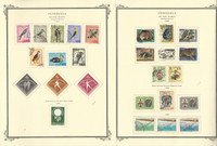 Venezuela Airpost Stamp Collection on 24 Scott Specialty Pages, 1962-71, JFZ