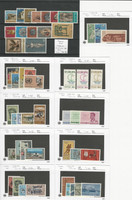 Cyprus Stamp Collection, Mint NH Sets, #232//296, 1964-1967, JFZ