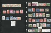 Denmark Stamp Collection, Mint NH Sets, #360//559, B22//46, 4 Pages, JFZ