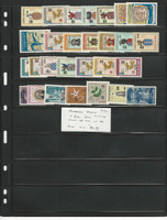 Portugal India Stamp Collection, Mint NH Sets, #570-597, 1959, JFZ