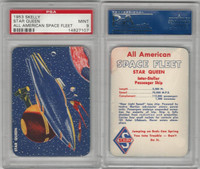 UO67 Skelly Gasoline, All American Space Fleet, 1953, Star Queen, PSA 9 Mint