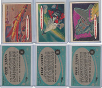 1957 Topps, Space Cards, Lot of Three, #14, 18, 19 Spaceship