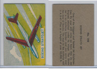 W673 Wildman, Trading Cards, Navy Ships, Airplanes, 1950, #103 Boeing
