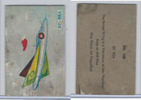 W673 Wildman, Trading Cards, Navy Ships, Airplanes, 1950, #105 XF92A