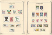Czechoslavakia Stamp Collection on 25 Scott Specialty Pages, 1977-81, JFZ