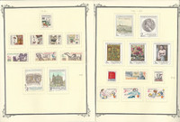 Czechoslavakia Stamp Collection on 26 Scott Specialty Pages, 1981-87, JFZ